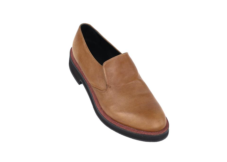 Leather Flats Brunello Ons Slip Cognac Cucinelli Brown ptB1Z