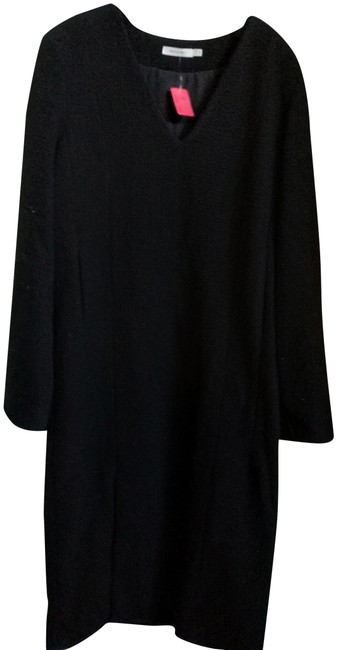 Item - Black Thick Fabric Mid-length Work/Office Dress Size 8 (M)