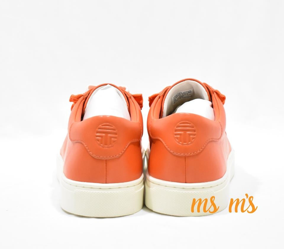 e27427200d6 Tory Sport by Tory Burch Orange Leather Low Top Sneakers Size US 9 Regular  (M, B) - Tradesy