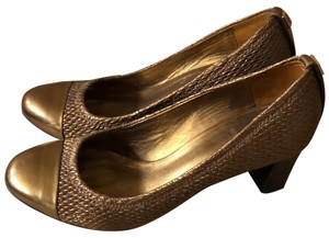 Tory Burch Gold/bronze Pumps