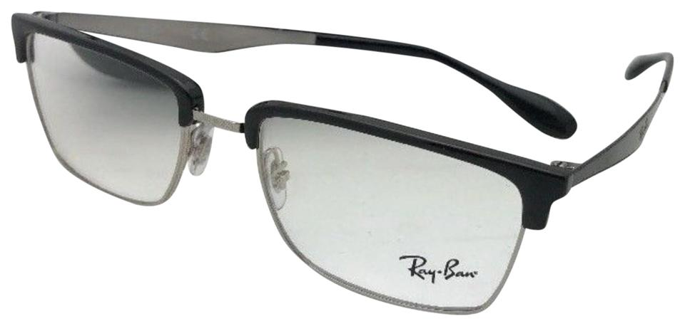 Ray-Ban New Rx-able Rb 6397 2932 54-19 145 Black and Silver Frames ...