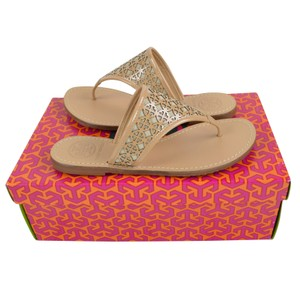 9c28c98cb588dd Pink Tory Burch Sandals - Up to 90% off at Tradesy