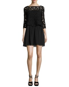 Joie Summer Fit N Flare A-line Lbd Dress