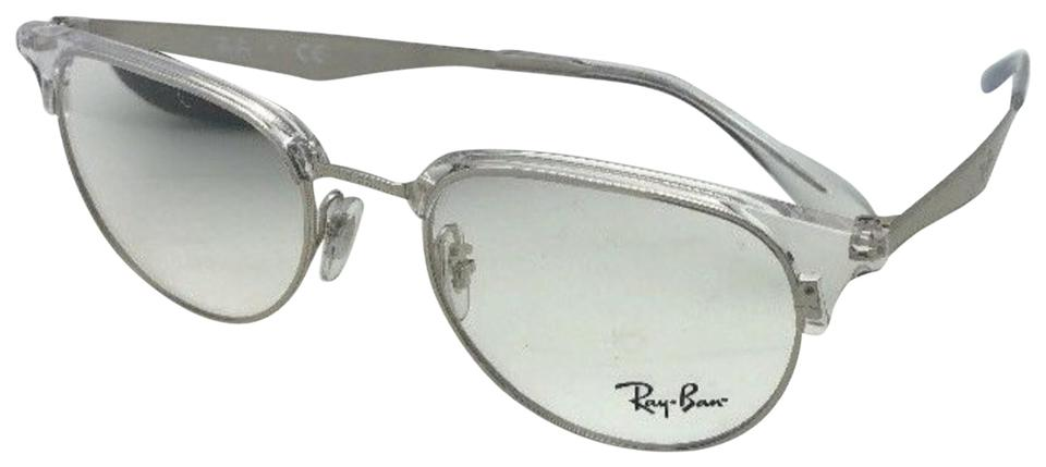 Ray-Ban New Rx-able Rb 6396 2936 51-19 140 Silver Frames Sunglasses ...