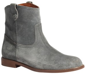 Madewell Suede Grey Boots
