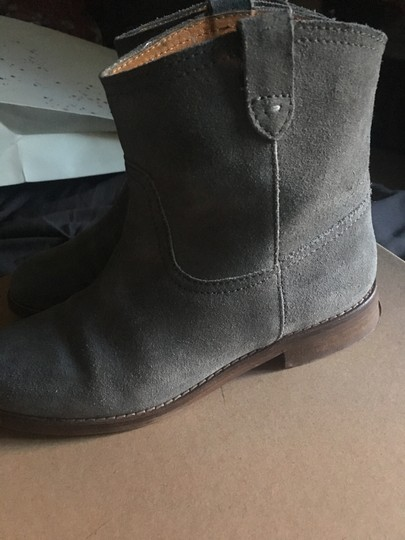 Madewell Suede Grey Boots Image 1