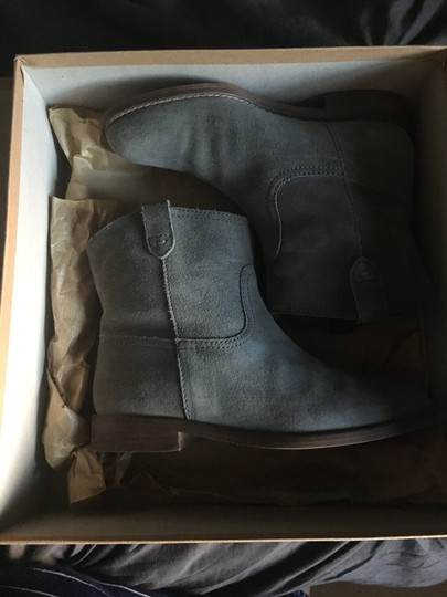 Madewell Suede Grey Boots Image 2