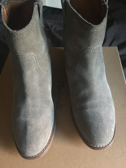Madewell Suede Grey Boots Image 3
