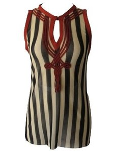 Jean-Paul Gaultier Top Black/white
