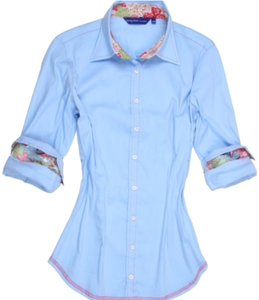 Georg Roth Los Angeles Button Down Shirt Blue