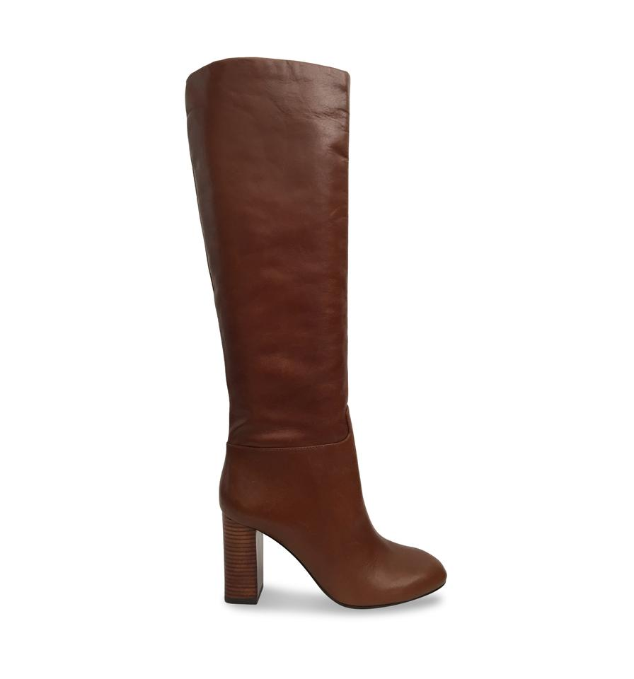 7ce3e3ce5 Tory Burch Brown Carmelite Devon Tall Knee High Boots Booties Size ...