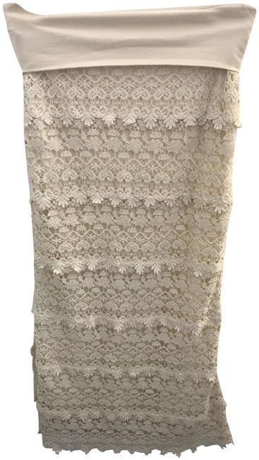 Solitaire Off White Skirt Size 6 (S, 28) Solitaire Off White Skirt Size 6 (S, 28) Image 1