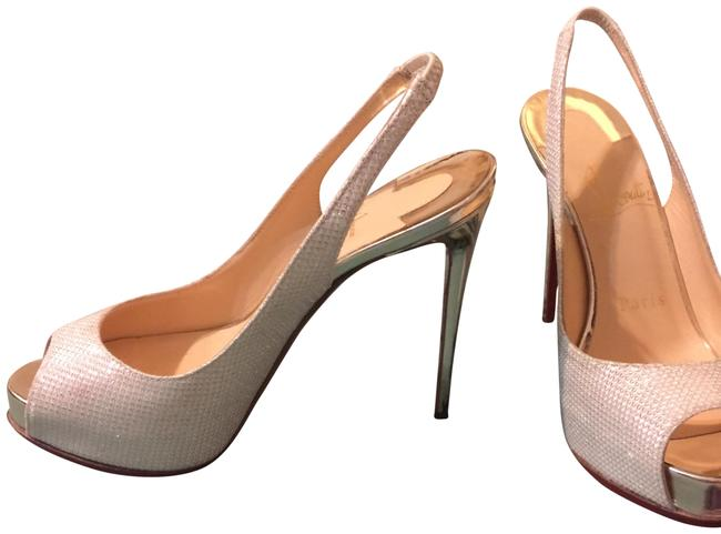 Item - Silver New Prive Formal Shoes Size EU 34 (Approx. US 4) Regular (M, B)