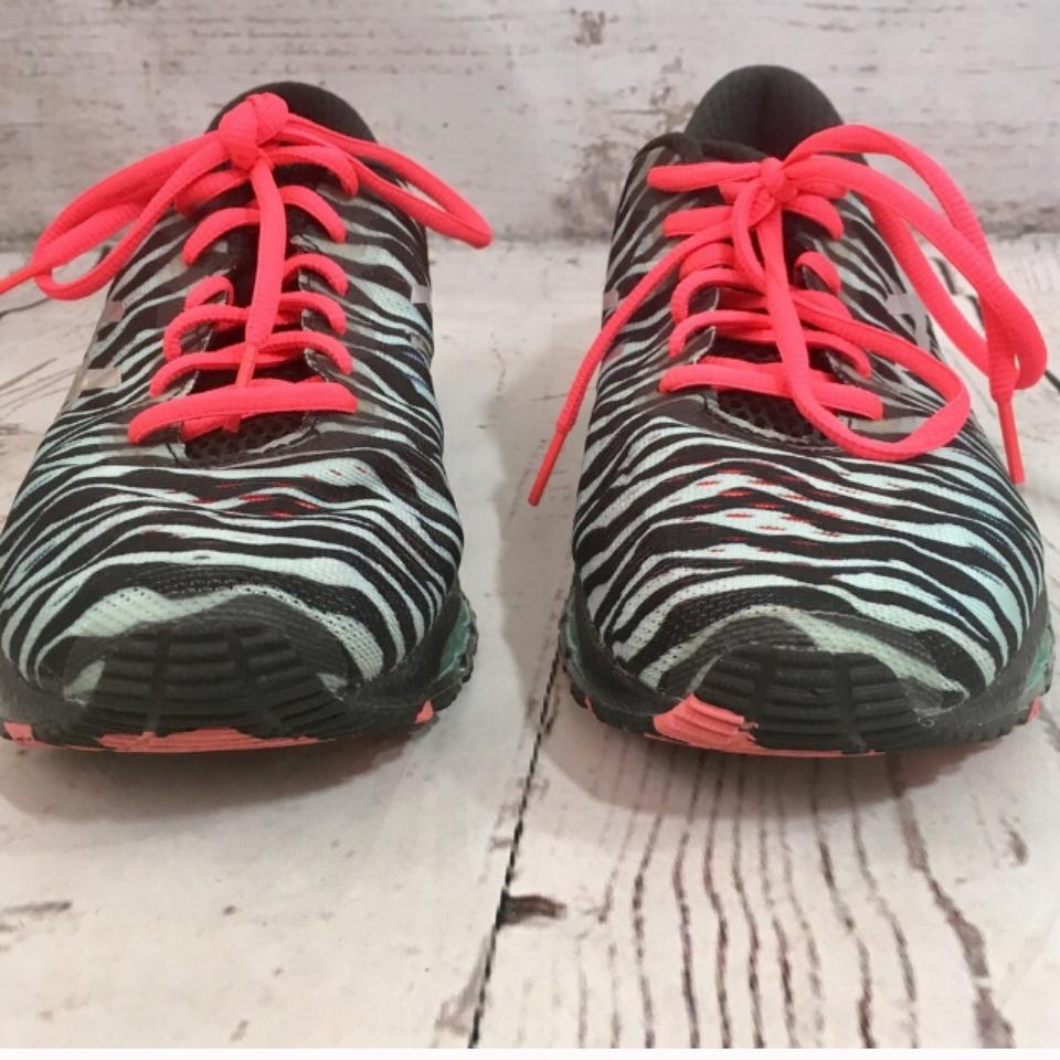 new style 1f653 65af4 Asics Blue & Black Women's Gel Quantum 360 Zebra Running T5j6n Sneakers  Size US 8 Regular (M, B) 43% off retail