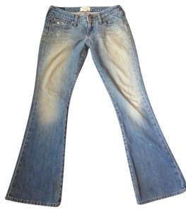 Abercrombie & Fitch Flare Leg Jeans-Light Wash