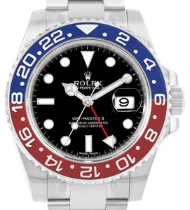 Rolex Rolex GMT Master II 18K White Gold Pepsi Bezel Mens Watch 116719