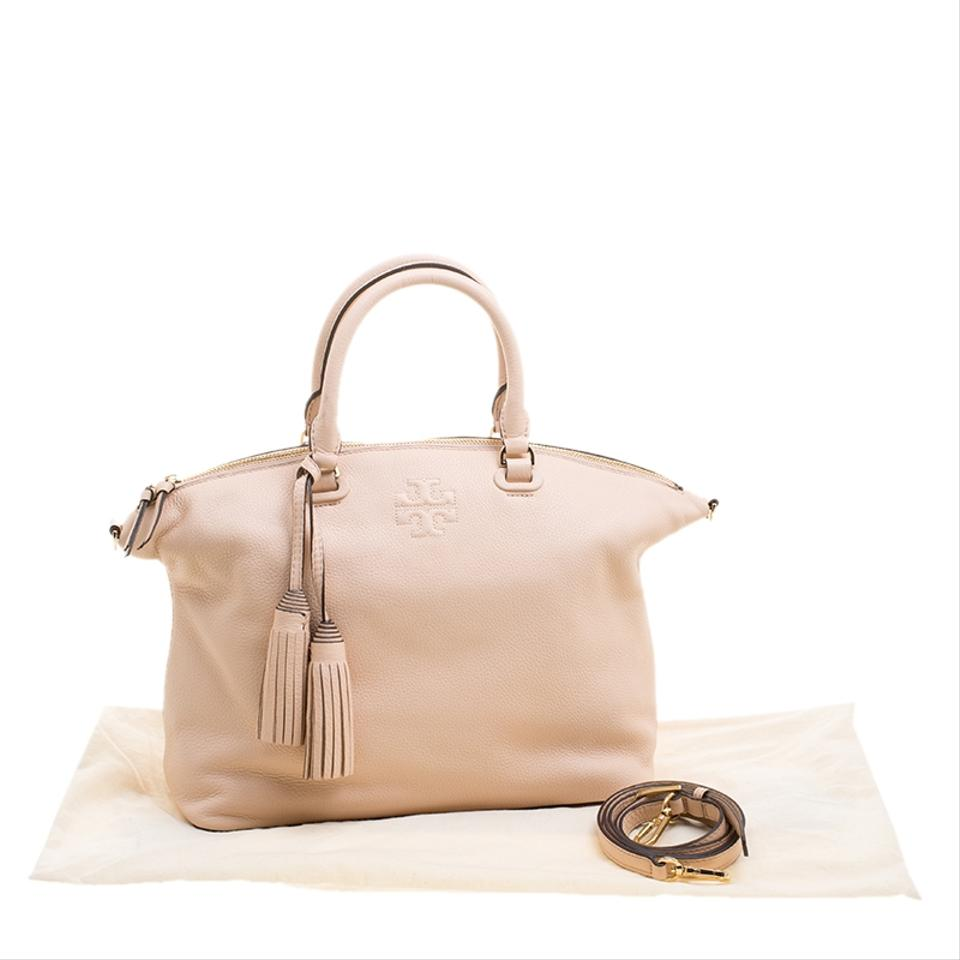 Burch Leather Pink Melon Sweet Thea Medium Satchel Tory dRYqHUwxd