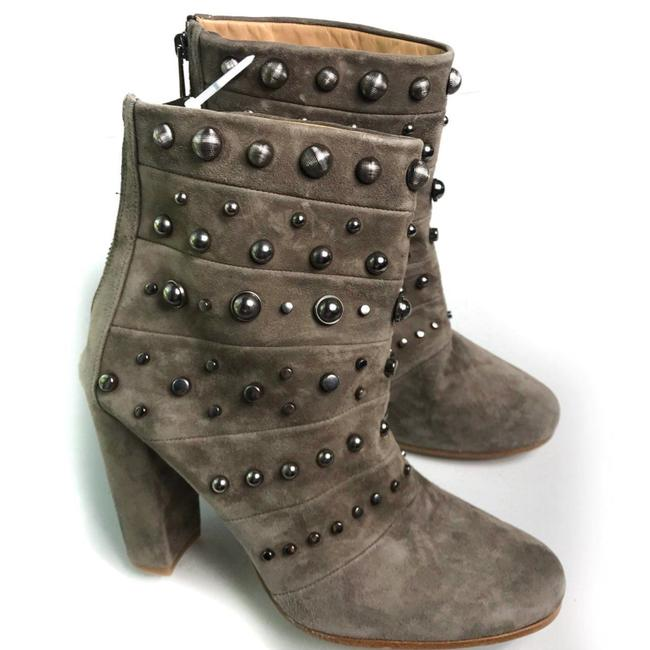 Item - Tan Suede Studded Ankle New Boots/Booties Size US 9.5 Regular (M, B)