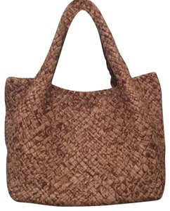 Falor Tote in Brown/Tan