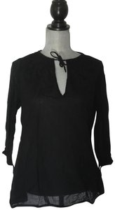 Gretchen Scott Top Black