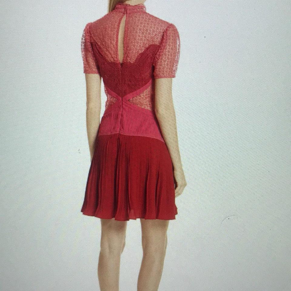 Lace Berry portrait Cocktail Dress Paneled self xwOdP5tnO