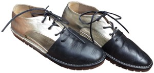Marsèll Leather Italy Designer Barneys Current Style Black gold Flats