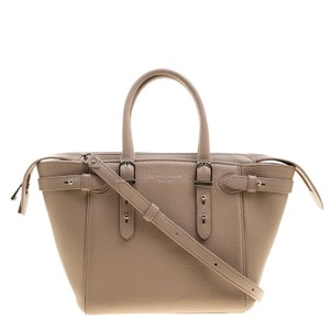 Aspinal of London Leather Mini Tote in Pink