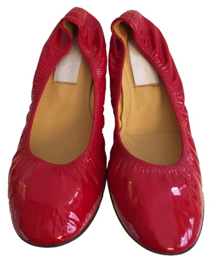 Lanvin Red Flats Image 0
