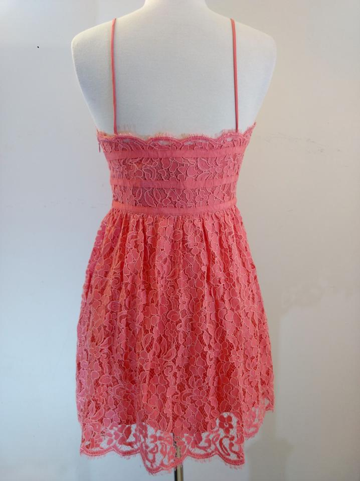 f53a1ad569ff NBD Lace Shoestring Strap Mini Give It Up Fit & Flare Dress Image 6. 1234567