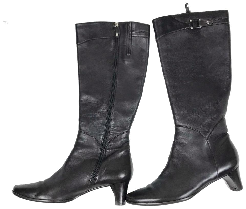 Cole Knee Haan Chocolate Brown D21276 Knee Cole High Heeled Riding Boots/Booties 942aa2