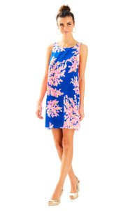 Lilly Pulitzer short dress Brilliant Blue Its Electric on Tradesy