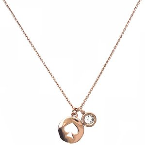 Kate Spade KATE SPADE Rose Gold Plated Charm Pendant