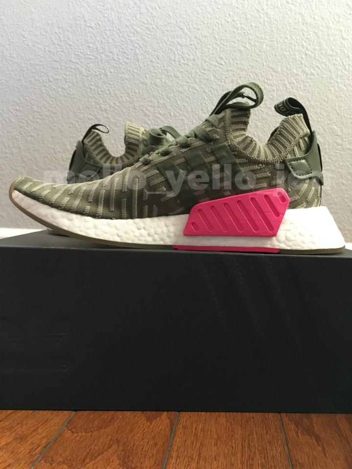 promo code 2552e 3d426 adidas Olive Nmd R2 Pk Japan St Major / By9953 / Boost Primeknit Sneakers  Size US 9 Regular (M, B) 29% off retail