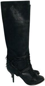 Givenchy Up Knee High Black Boots