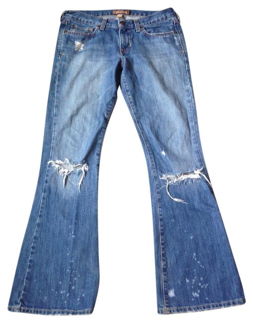 Preload https://img-static.tradesy.com/item/2370364/abercrombie-and-fitch-blue-distressed-flare-leg-jeans-size-29-6-m-0-0-650-650.jpg