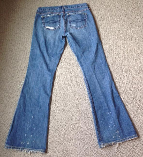 Abercrombie & Fitch Flare Leg Jeans-Distressed Image 3