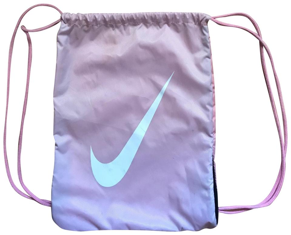 Nike Draw String Light Pink Nylon Backpack - Tradesy 11284db1ae043