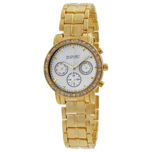 August Steiner August Steiner Gold-tone Multifunction Ladies Watch AS8041YG