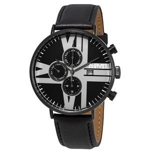 August Steiner August Steiner Urbane Multifunction Black Dial Mens Watch AS8212BK