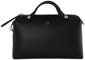 Fendi By The Way Handbag Boston Tote in Black