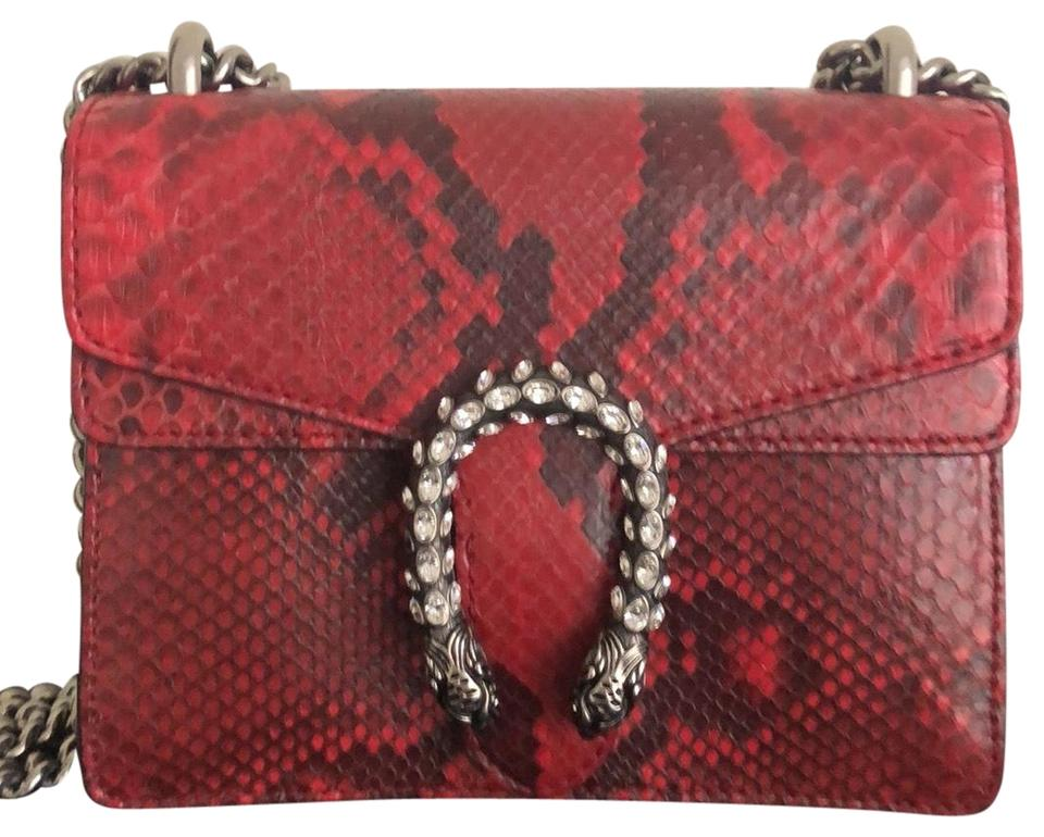 75d98b3595 Gucci Dionysus Shoulder Python Cross Body Bag - Tradesy