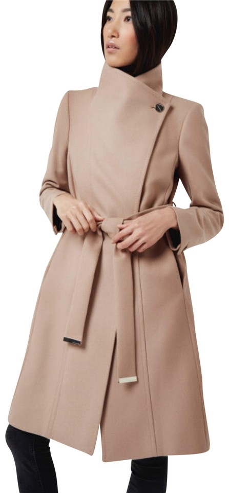 Coat Trench Wool Baker Camel Wrap Lorili Ted Cashmere q0PSwSY