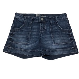 KUT from the Kloth Cuffed Shorts Blue