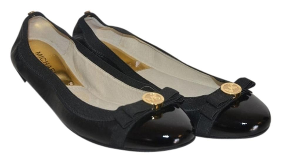 b051cc14f5a4 Michael Kors Black New Dixie with Bow Ballet Flats Size US 7 Regular ...