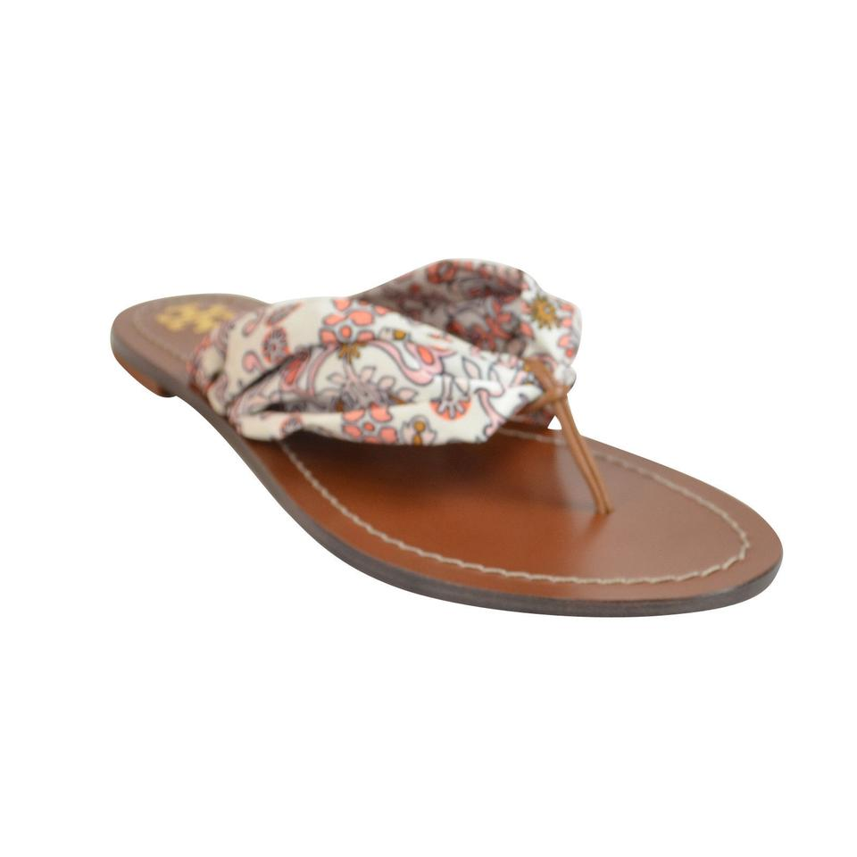 19660def82a6 Tory Burch Carson Flat Thong Satin Size 8 Slip On Hicks Garden Sandals  Image 5. 123456