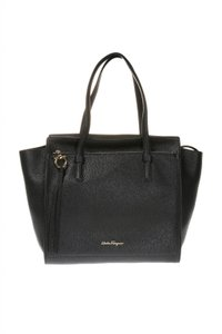 f081b35f0c Added to Shopping Bag. Salvatore Ferragamo Tote in Black. Salvatore  Ferragamo Amy Ferrg31295 Black Leather Tote