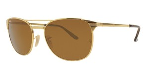 Ray-Ban Ray Ban Unisex Square Sunglasses RB3429M 001/33 Gold Frame