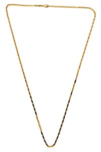 Chimento Chimento 18k pink gold necklace 18 inches long