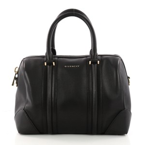 Givenchy Duffle Leather black Travel Bag