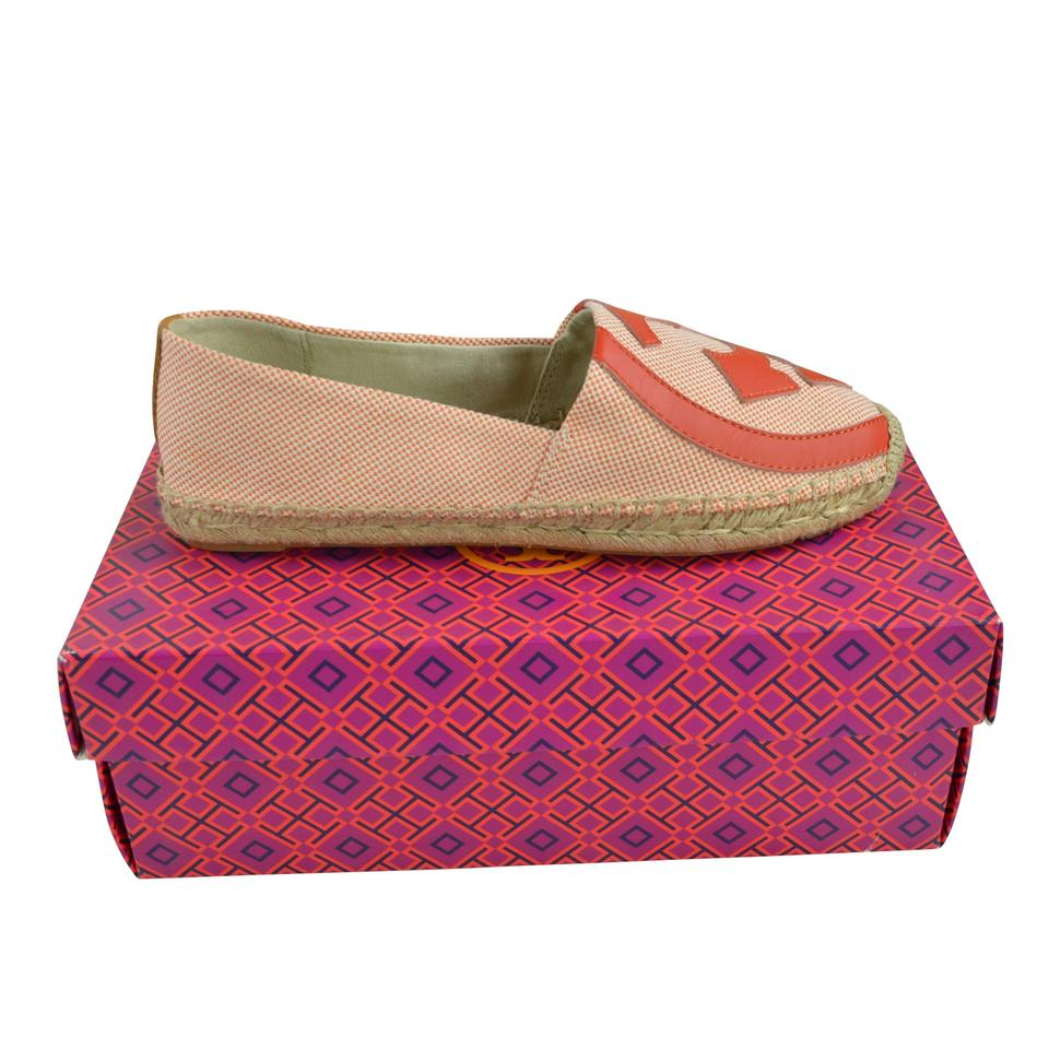 c86ff3c06 Tory Burch Natural Lonnie Espadrille - Luggage Canvas Flats Size US ...